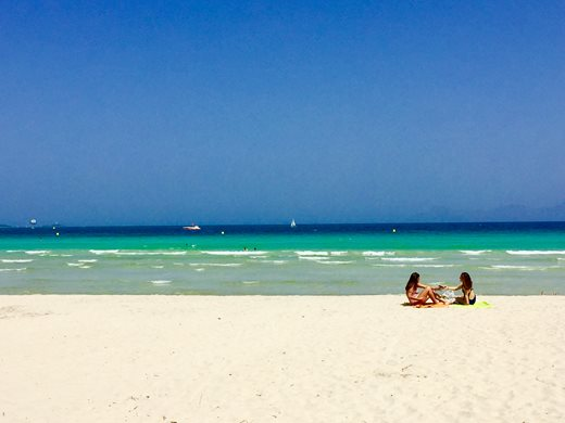 Es Trenc is voted as the most beautiful beach of whole Europe